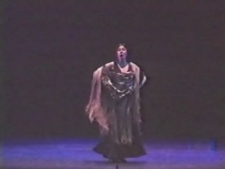 Blanca del Rey - Flamenco shawl - Soleá del mantón