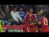 30.08.2013. Суперкубок УЕФА. Бавария - Челси. Гол Мартинеса (2:2)